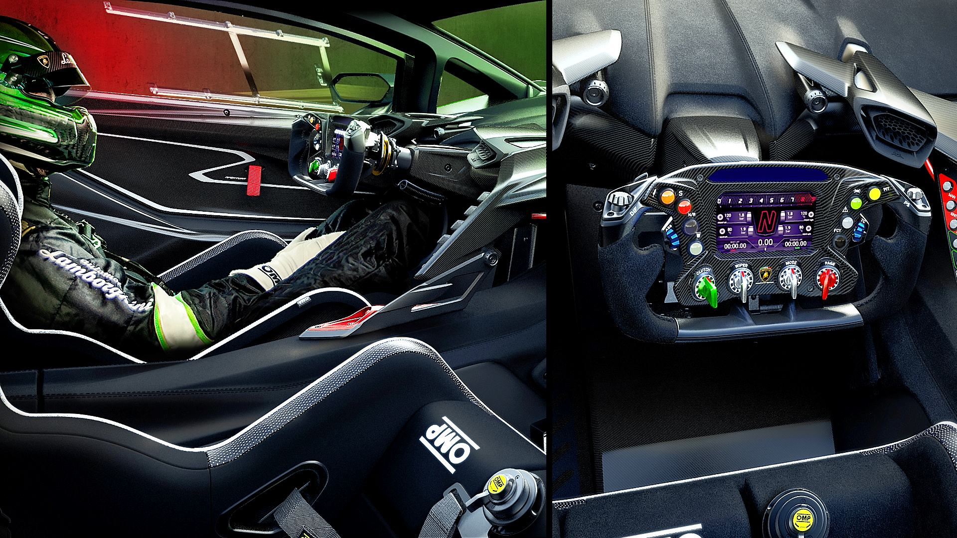 2021 Lamborghini Essenza SCV12 Interior Inside