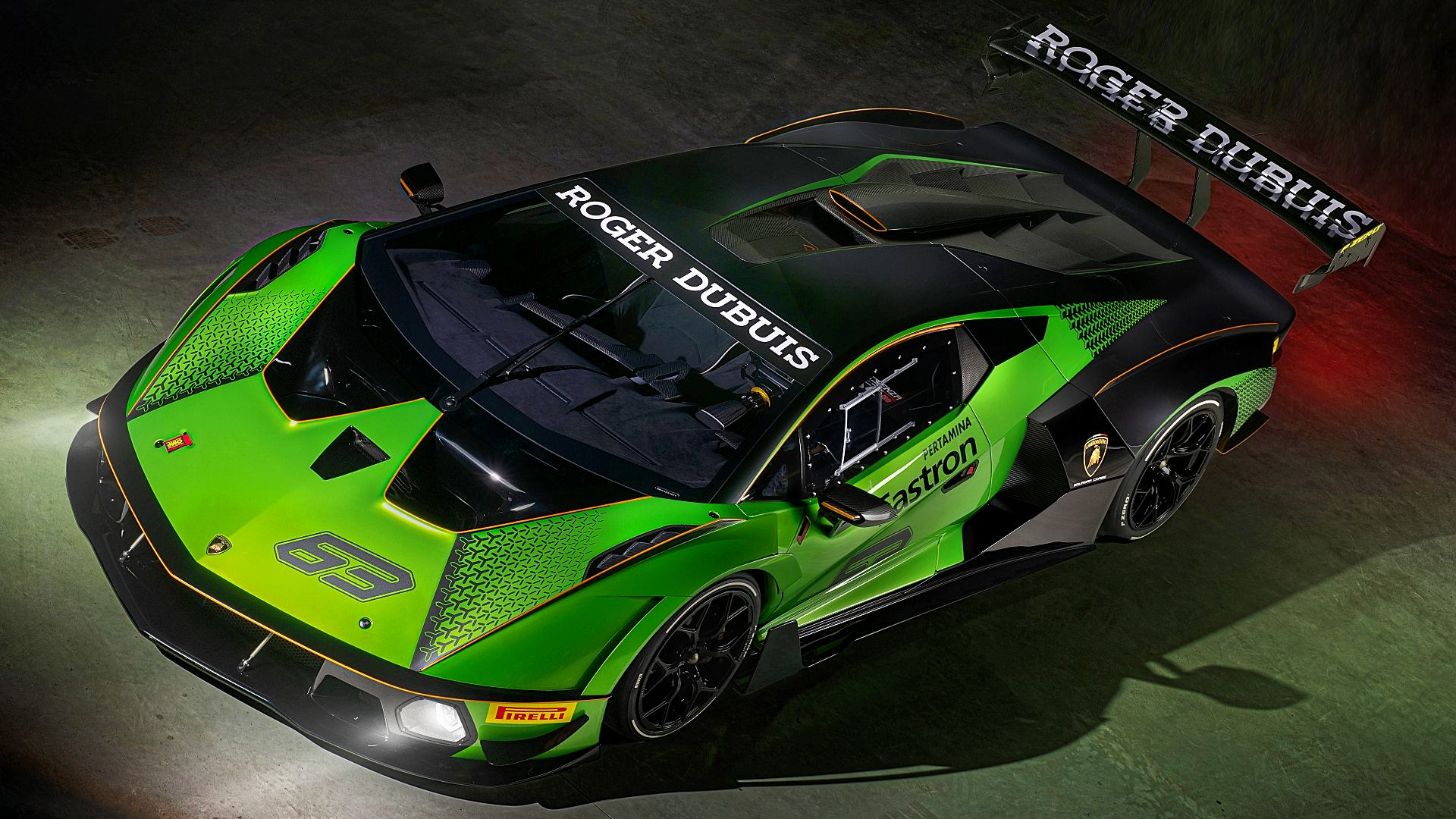 Lamborghini Essenza Supercar Wallpaper Hd