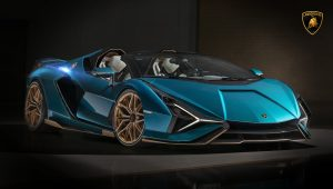 2021 Lamborghini Sian Roadster Images