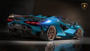 2021 Lamborghini Sian Wallpaper Hd