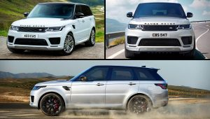 2021 Land Rover SUV Models Images