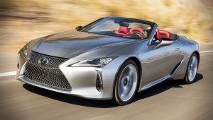 2021 Lexus LC Convertible Pictures