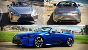 2021 Lexus LC 500 Convertible Colors Images