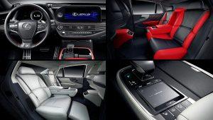 2021 Lexus LS 500 Interior Pictures Images