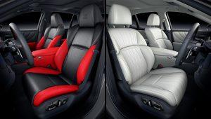 2021 Lexus LS 500 Interior Images
