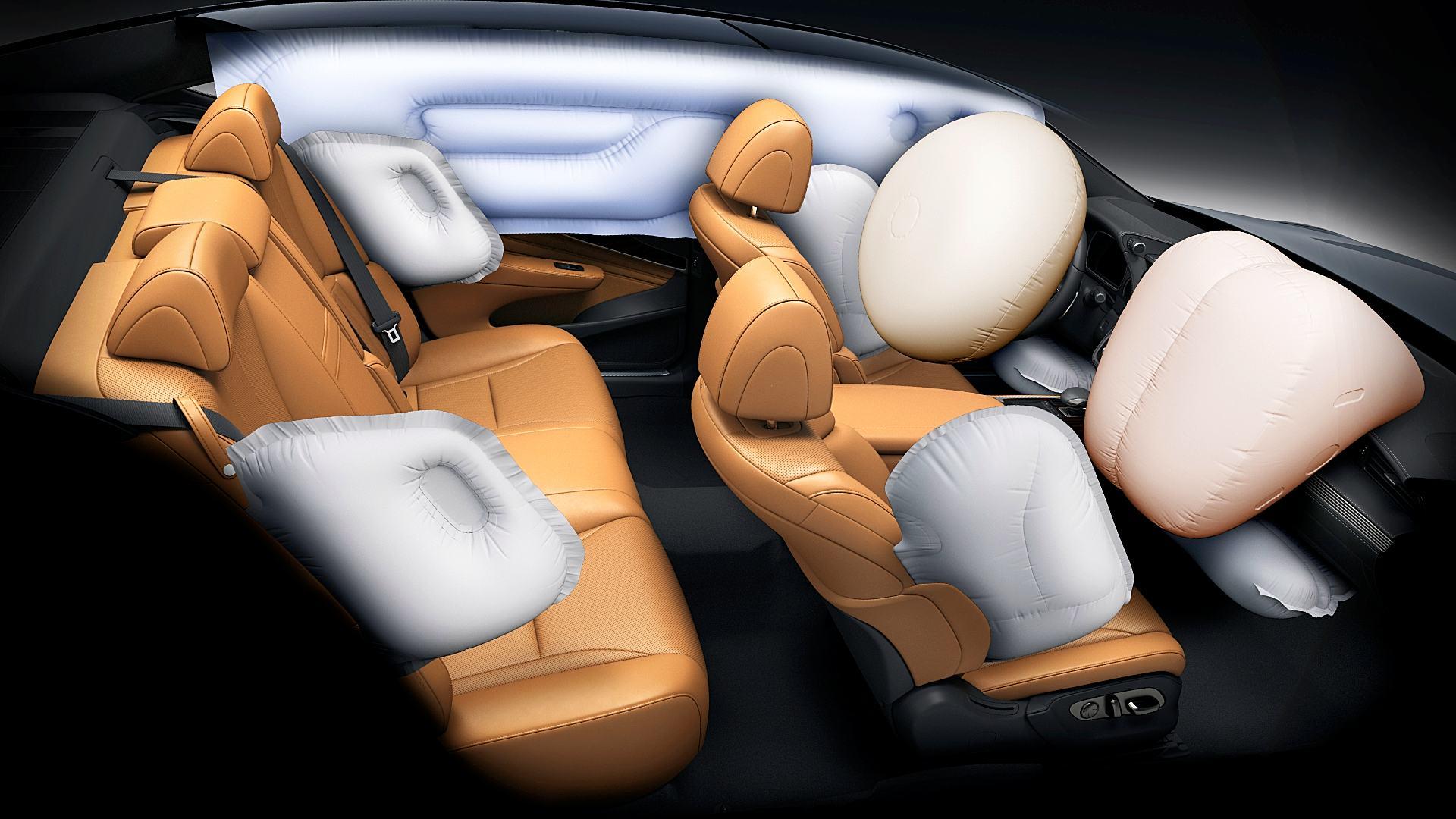 2021 Lexus LS Car Airbag Pictures