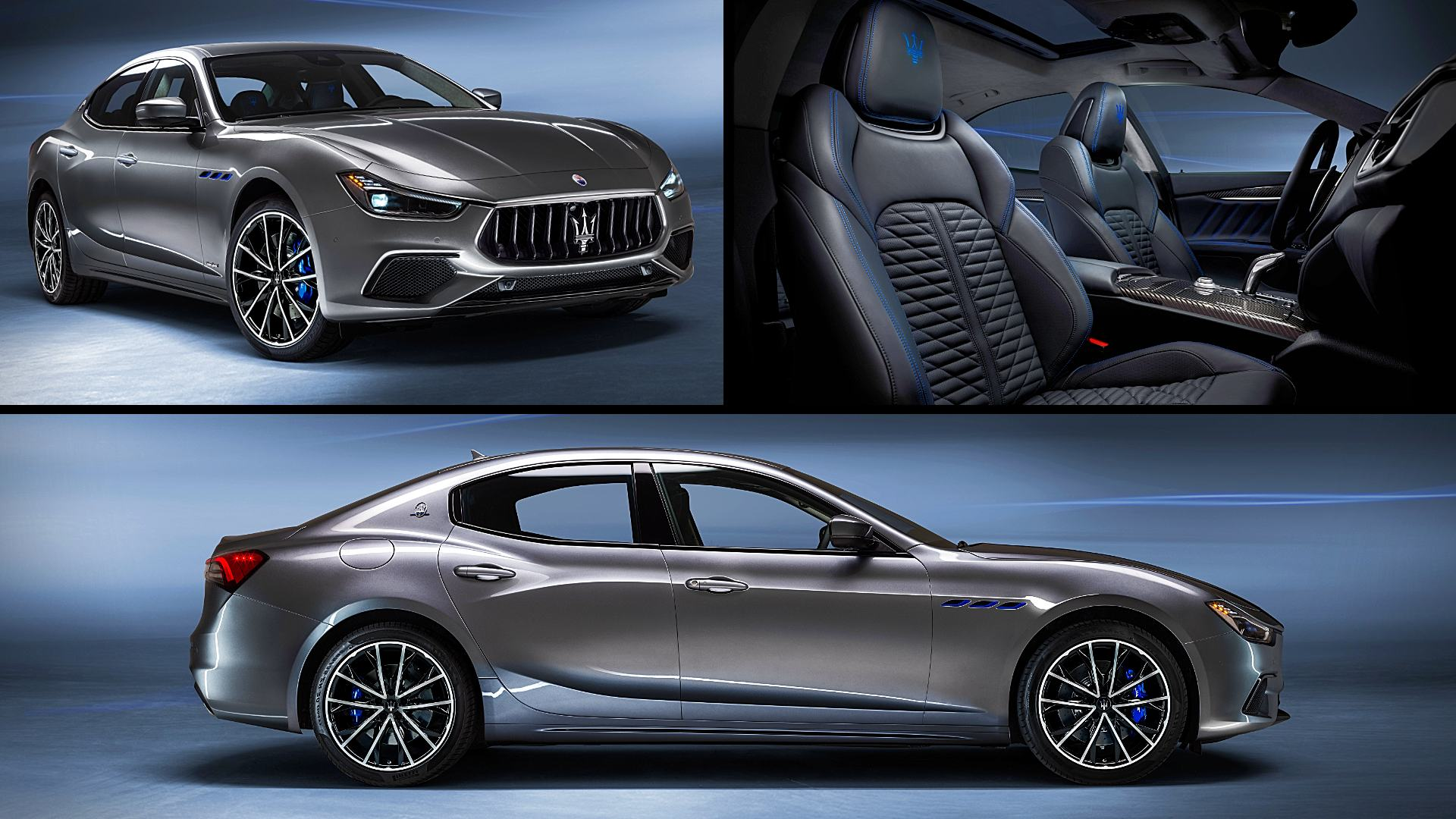 2021 Maserati Ghibli Hybrid GranSport Sedan Images