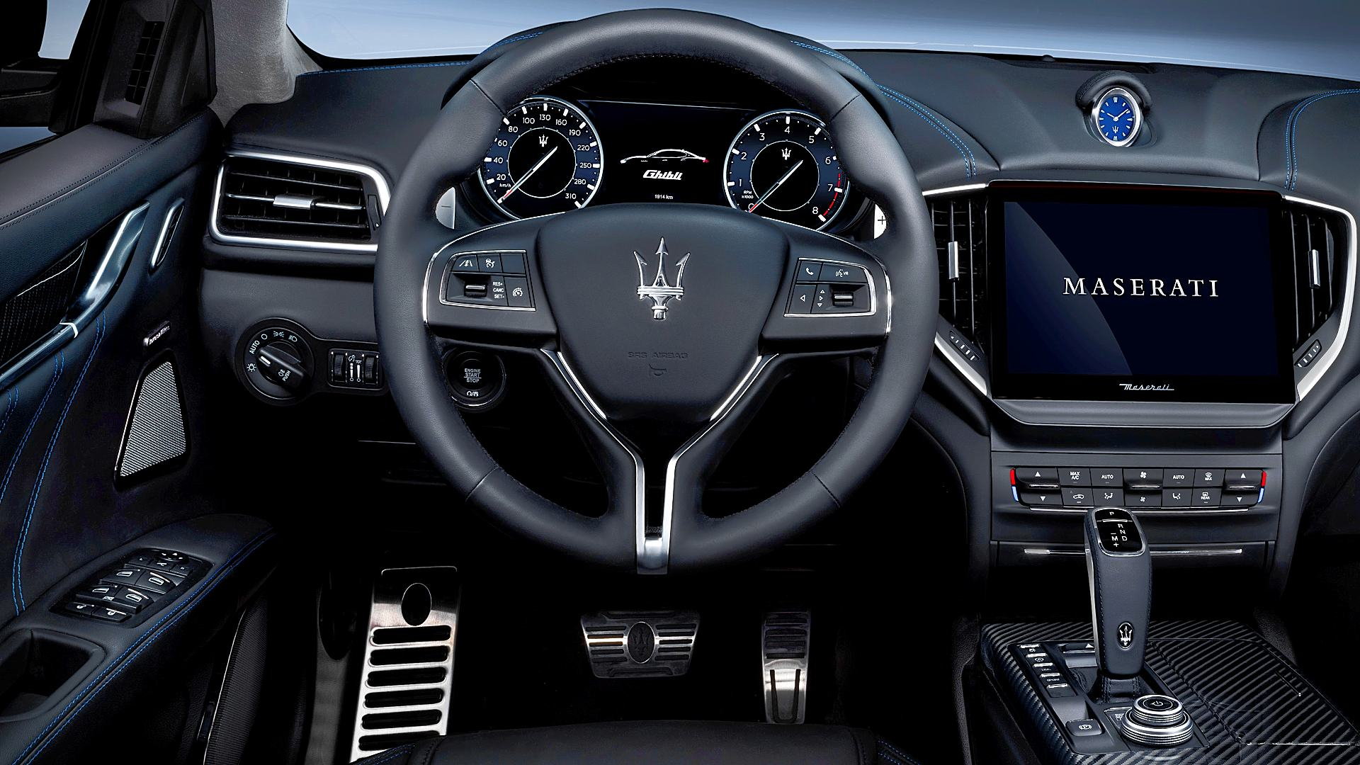 2021 Maserati Ghibli Interior Inside