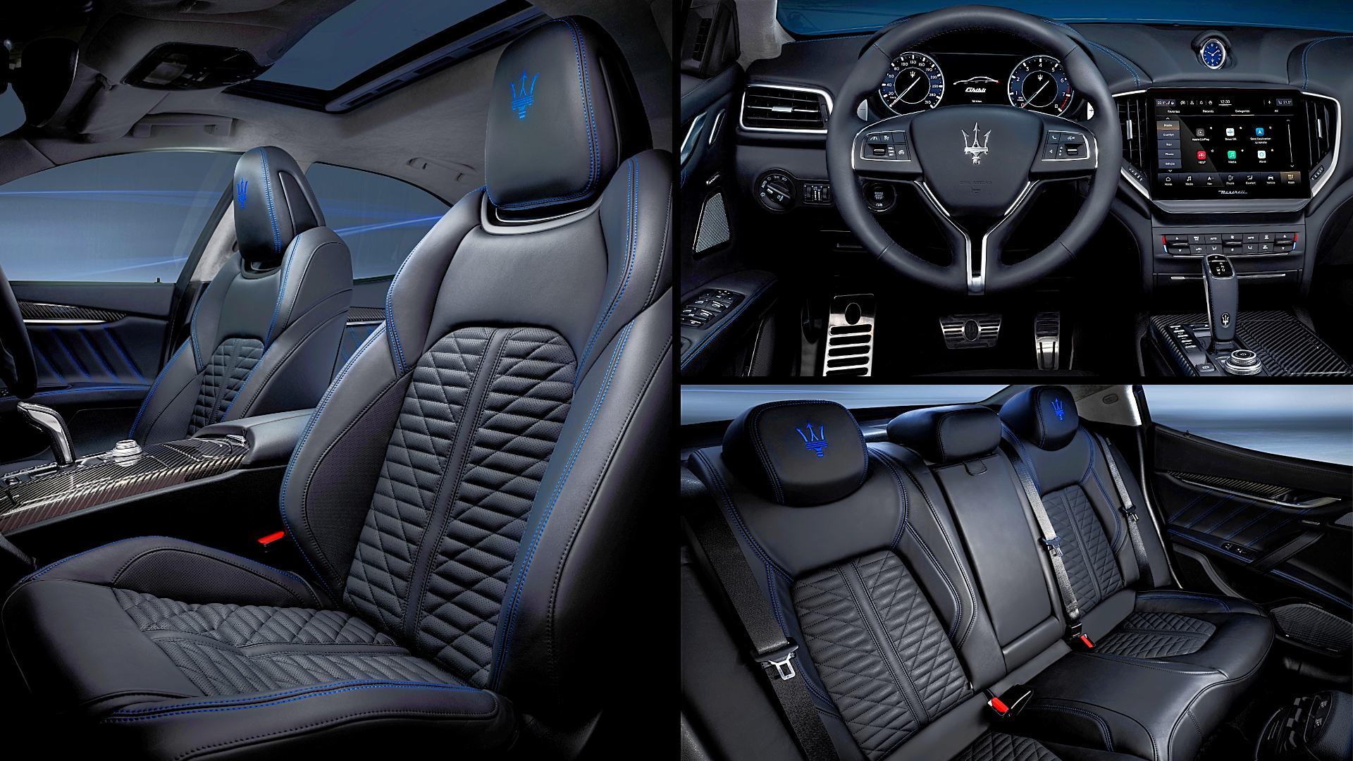 2021 Maserati Ghibli Inside Interior Images
