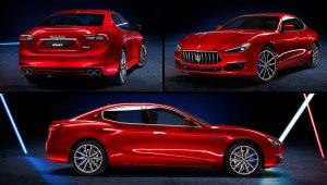 2021 Maserati Ghibli Red GranLusso