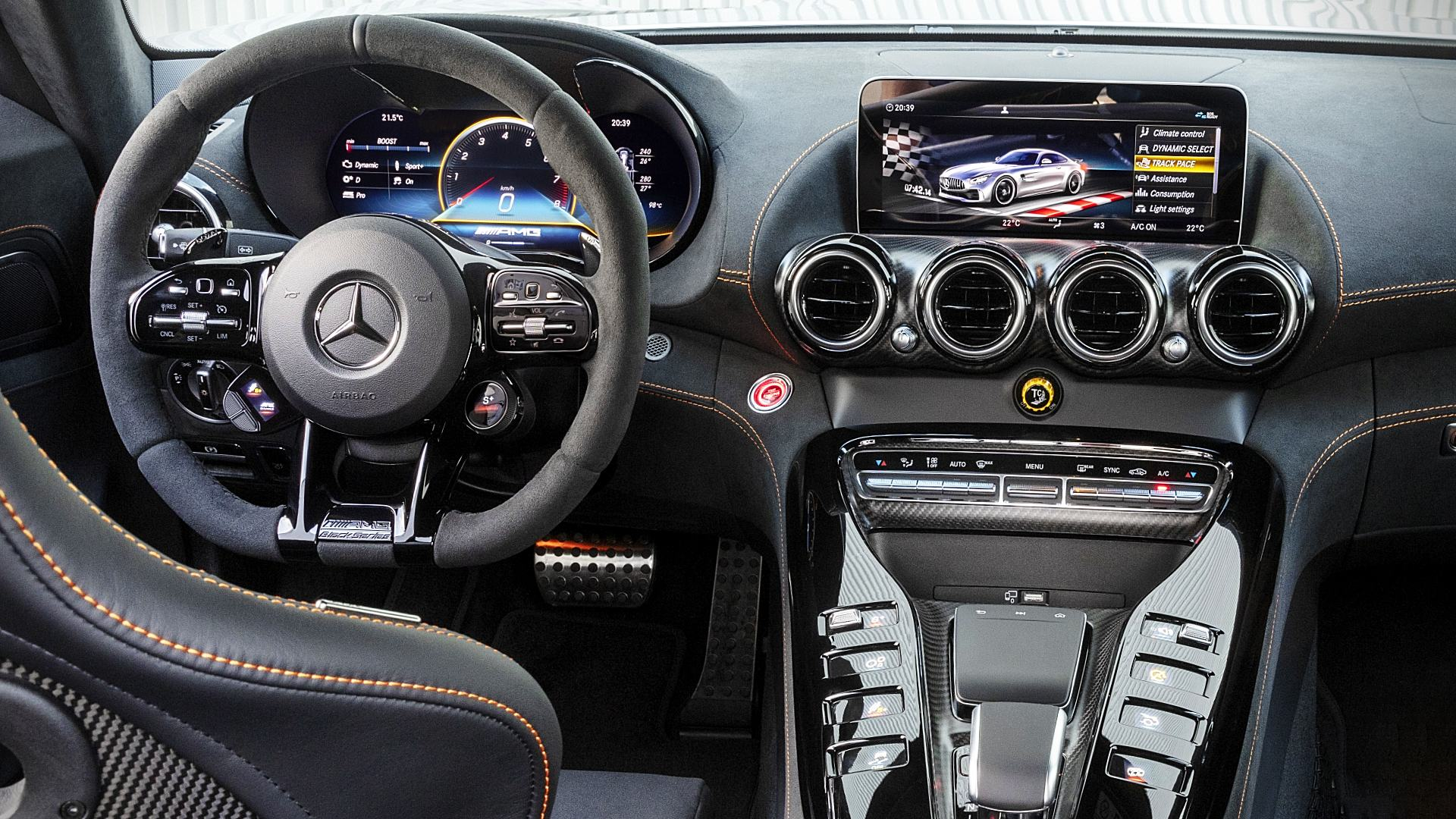 2021 Mercedes AMG GT Black Series Interior Inside