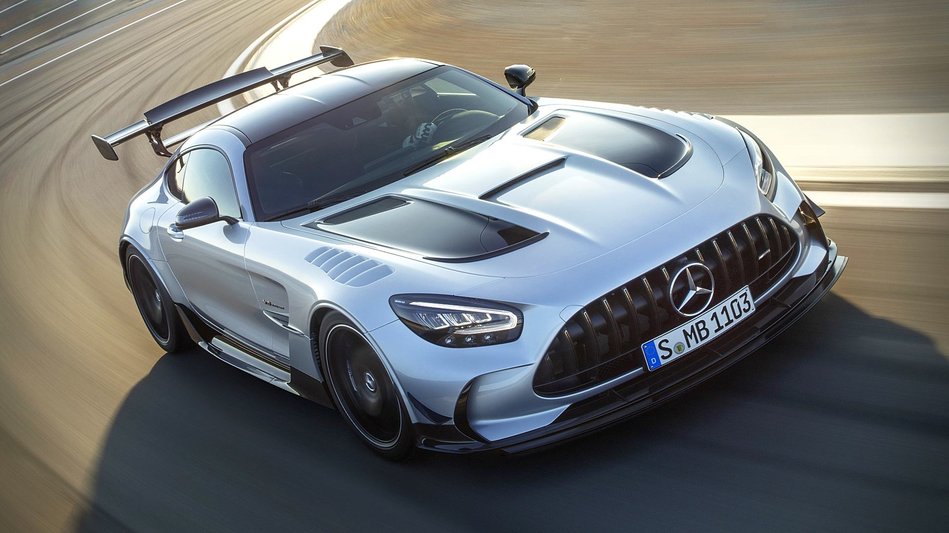 2021 Mercedes Supercar AMG GT Wallpaper