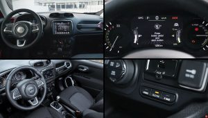2021 Models Jeep Renegade Hybrid Interior