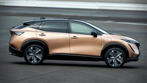 2021 Nissan Ariya Electric SUV Images