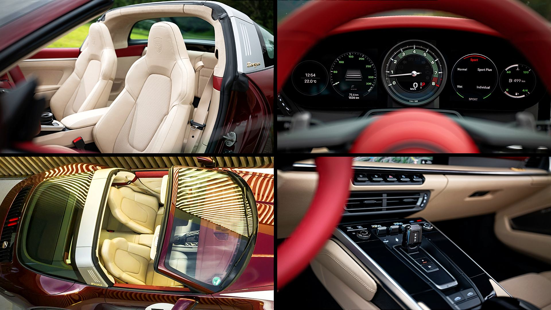 2021 Porsche 911 Interior Colors
