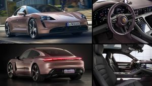 2021 Porsche Taycan Electric Images