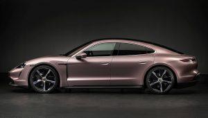 2021 Porsche Taycan Colors