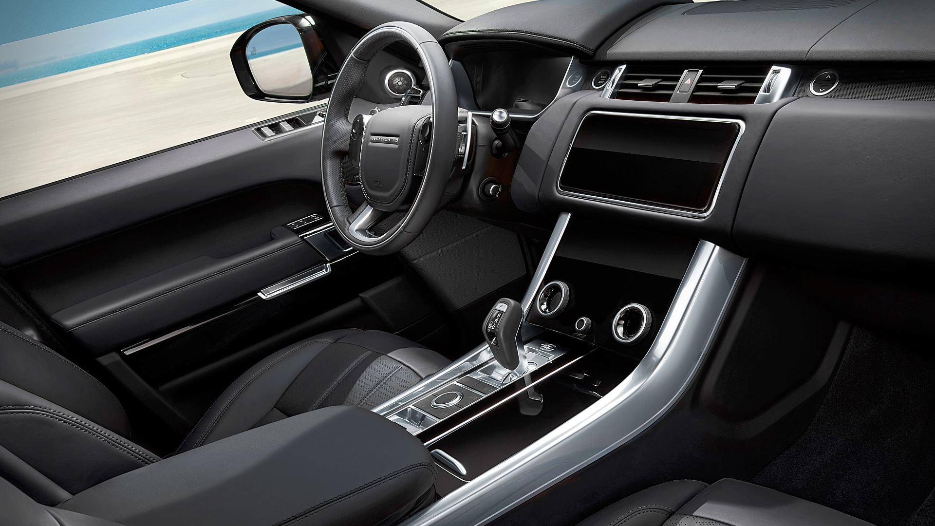 2021 Range Rover Sport HSE Black Interior