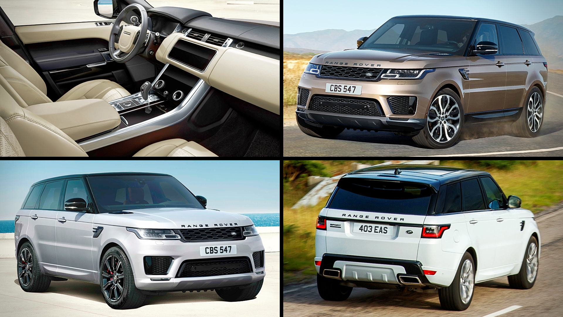 2021 Range Rover Sport Supercharged Images