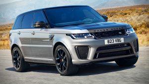 2021 Range Rover Sport SVR Carbon Images