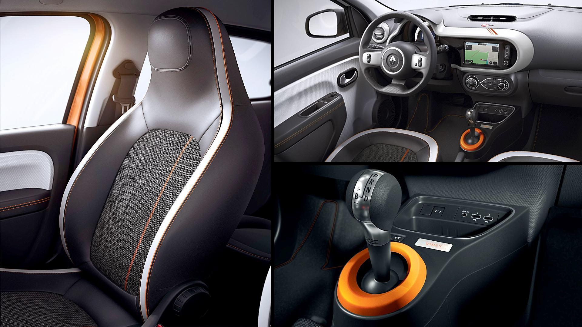 2021 Renault Twingo ZE Interior Inside