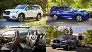 2021 Subaru SUV Models Ascent Images