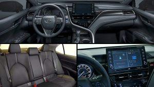 2021 Toyota Camry Hybrid Interior Inside