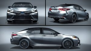 2021 Toyota Camry Hybrid XSE Images Pictures