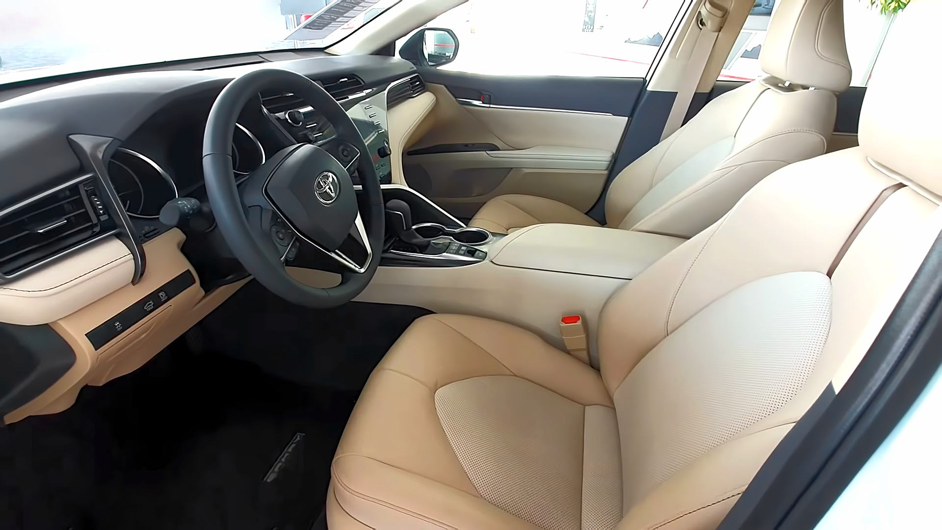 2021 Toyota Camry Interior Colors