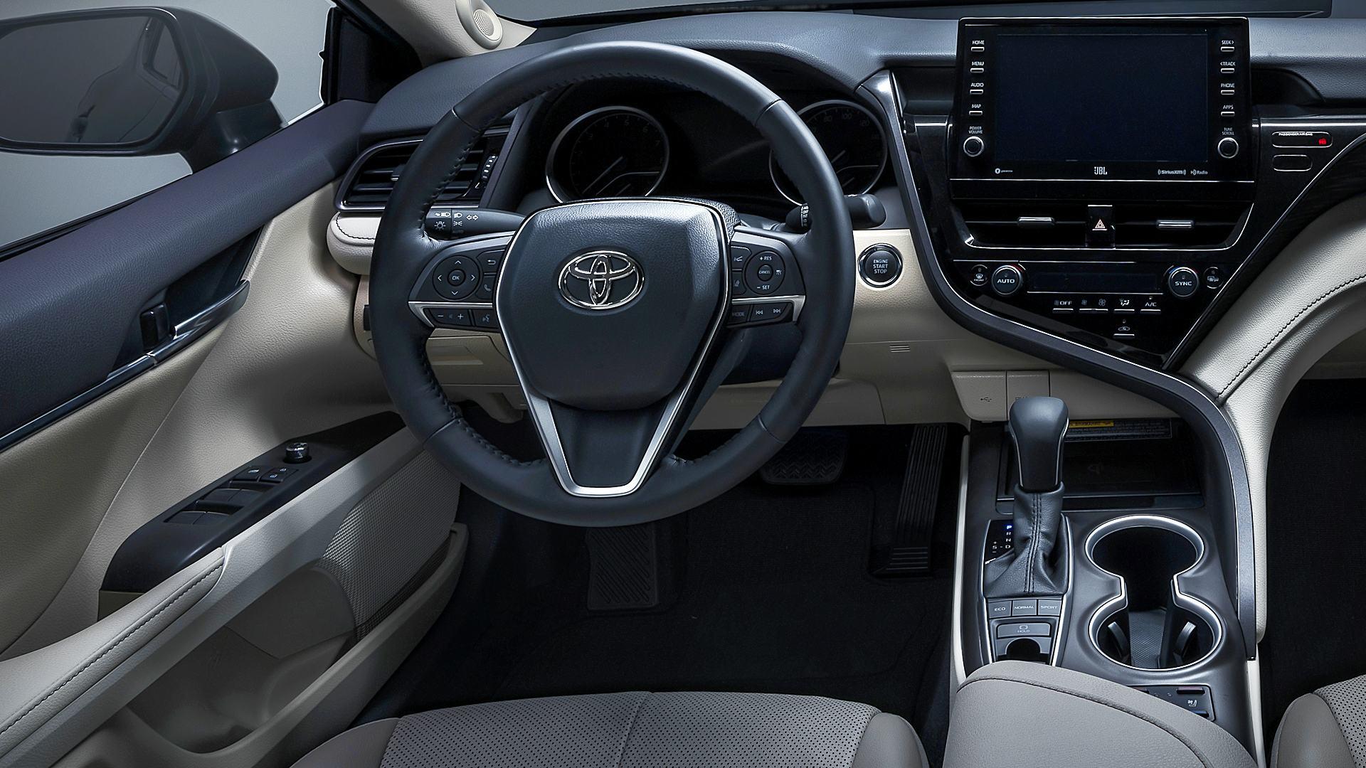 2021 Toyota Camry Interior Inside