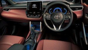 2021 Toyota Corolla Cross Interior