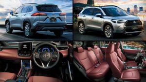 2021 Toyota SUV Models Corolla Cross Images