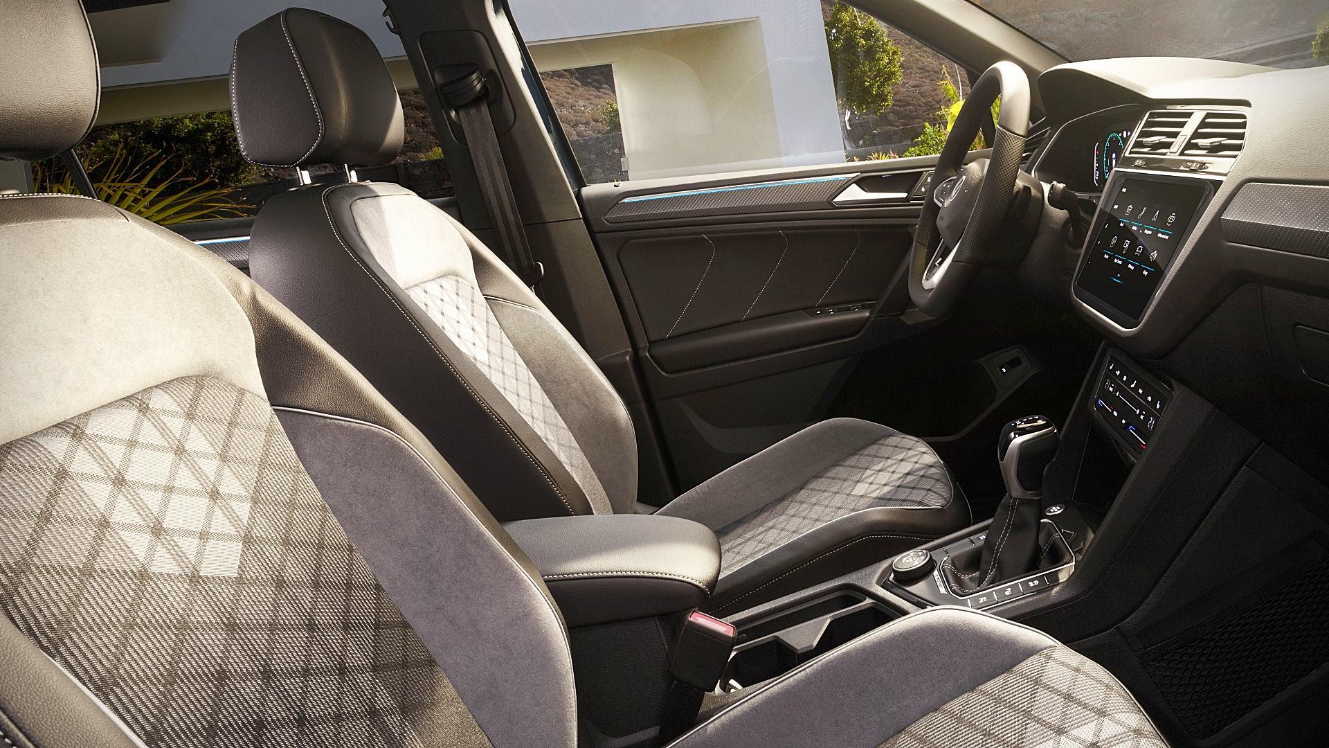 2021 Volkswagen Tiguan Interior Images