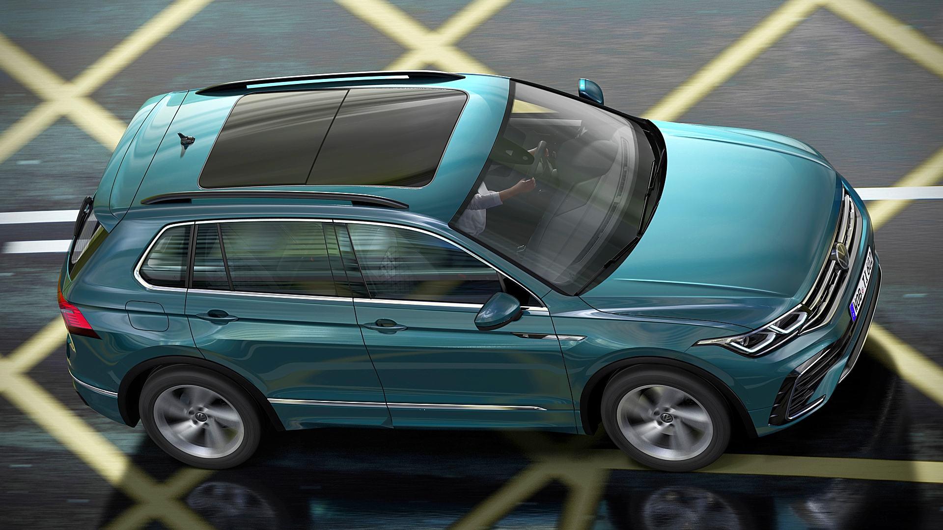 2021 VW Tiguan R Line Images