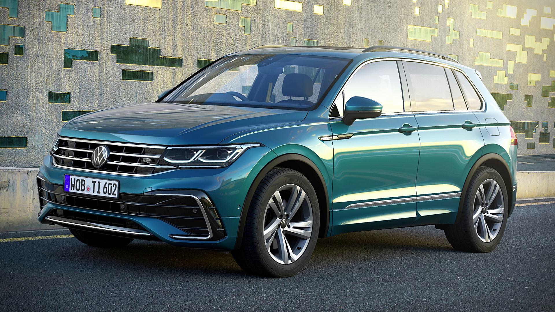 2021 Volkswagen Tiguan R Line