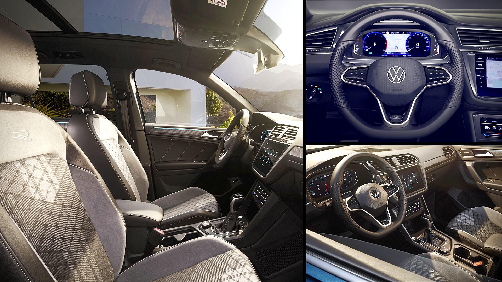 2021 VW Tiguan Interior Inside