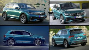 2021 VW Tiguan R Line Pictures Photos