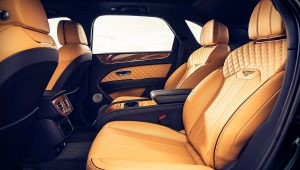 2021 Bentley Bentayga V8 Interior Colors
