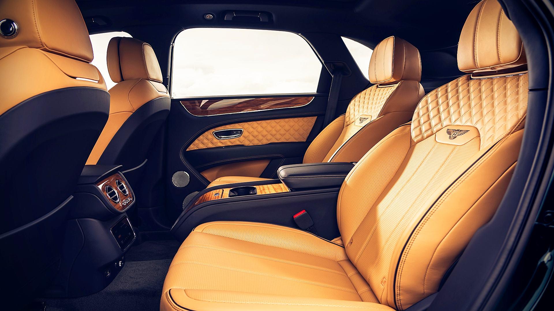 2021 Bentley Bentayga V8 Interior Colors