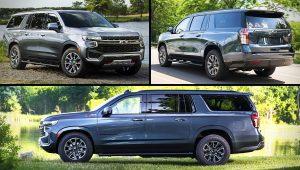 Chevrolet SUV Models 2021 Suburban Z71 Images