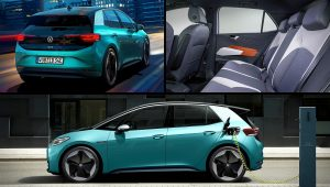 Electric VW Cars 2020 ID 3
