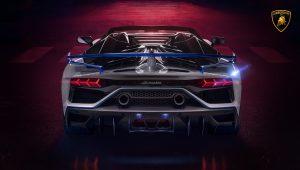 Lamborghini Aventador SVJ Roadster Sports Car Wallpaper
