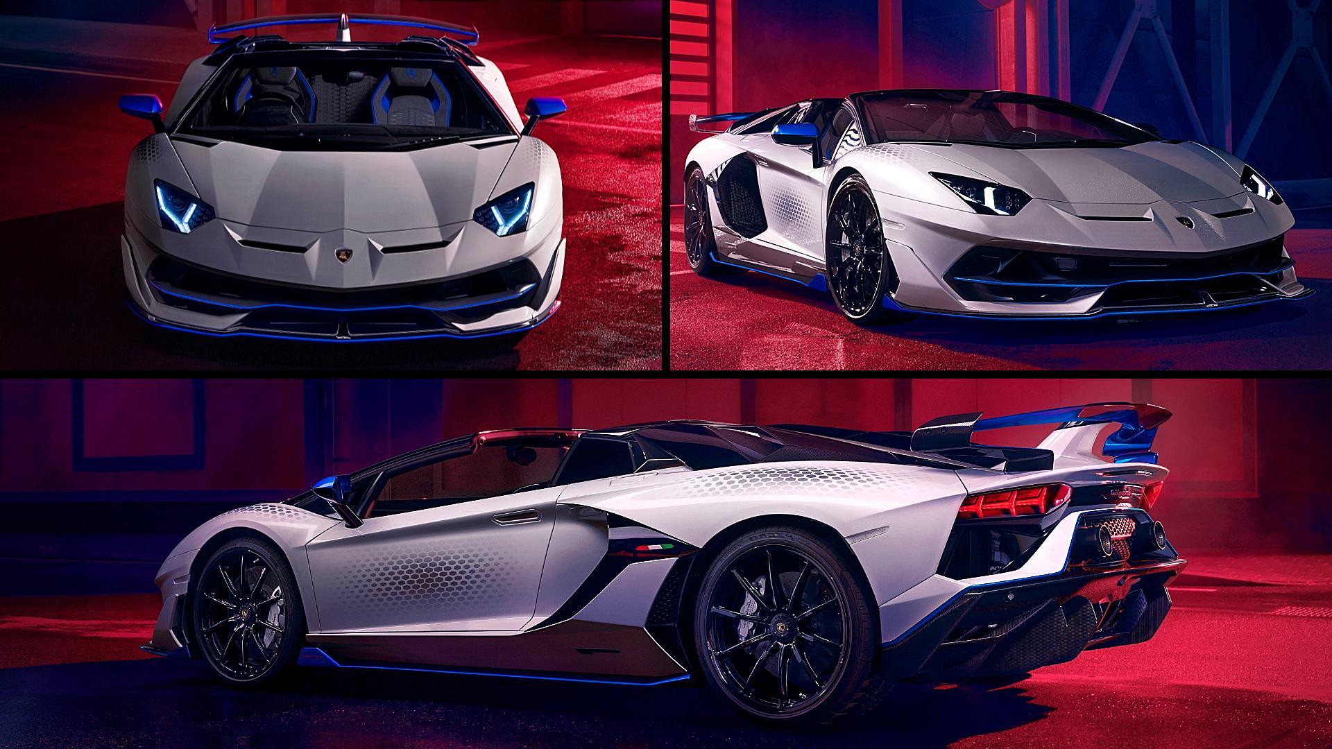 2020 Lamborghini Aventador SVJ Xago Roadster Images Pictures