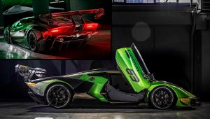 2021 Lamborghini Race Car Essenza Pictures Images