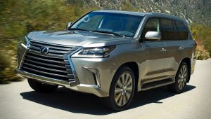 Lexus LX 570 Luxury SUV Cars 2020 Images