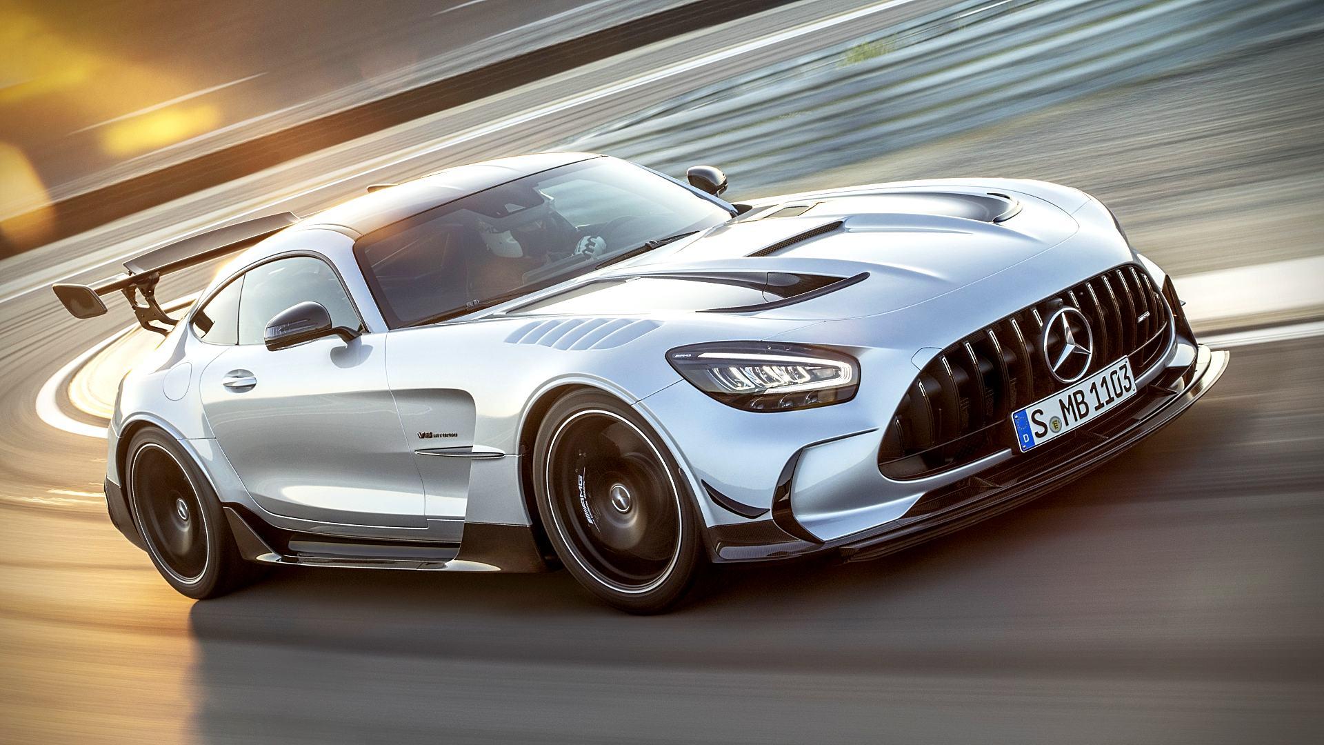 Mercedes Supercar Wallpaper Hd