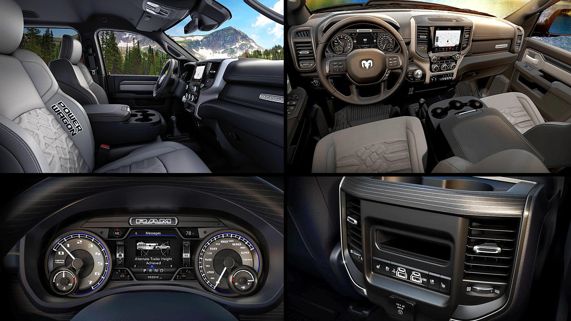2020 Dodge Ram 2500 Interior Inside
