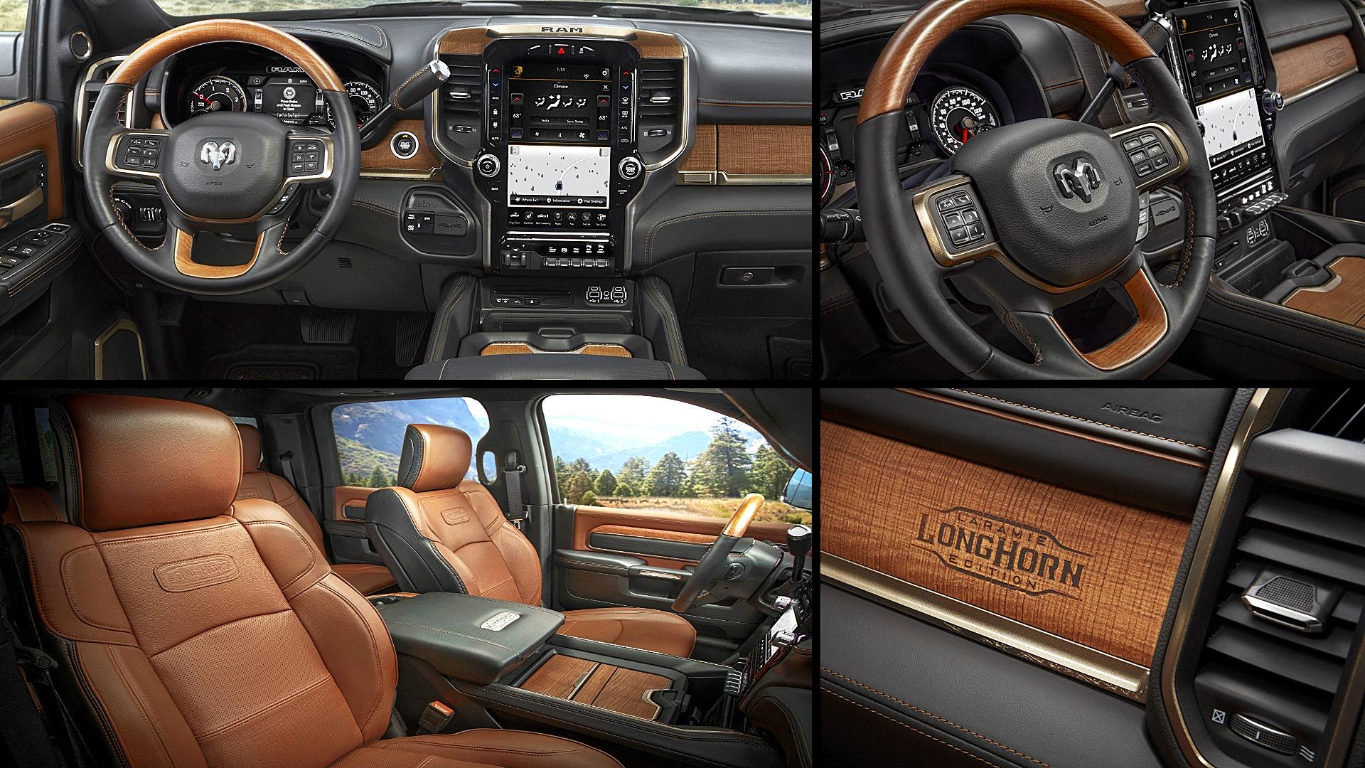 2020 Dodge Ram 2500 Laramie Longhorn Crew Cab Interior