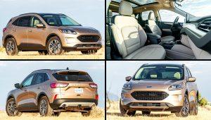 2020 Ford SUV Models Escape SEL