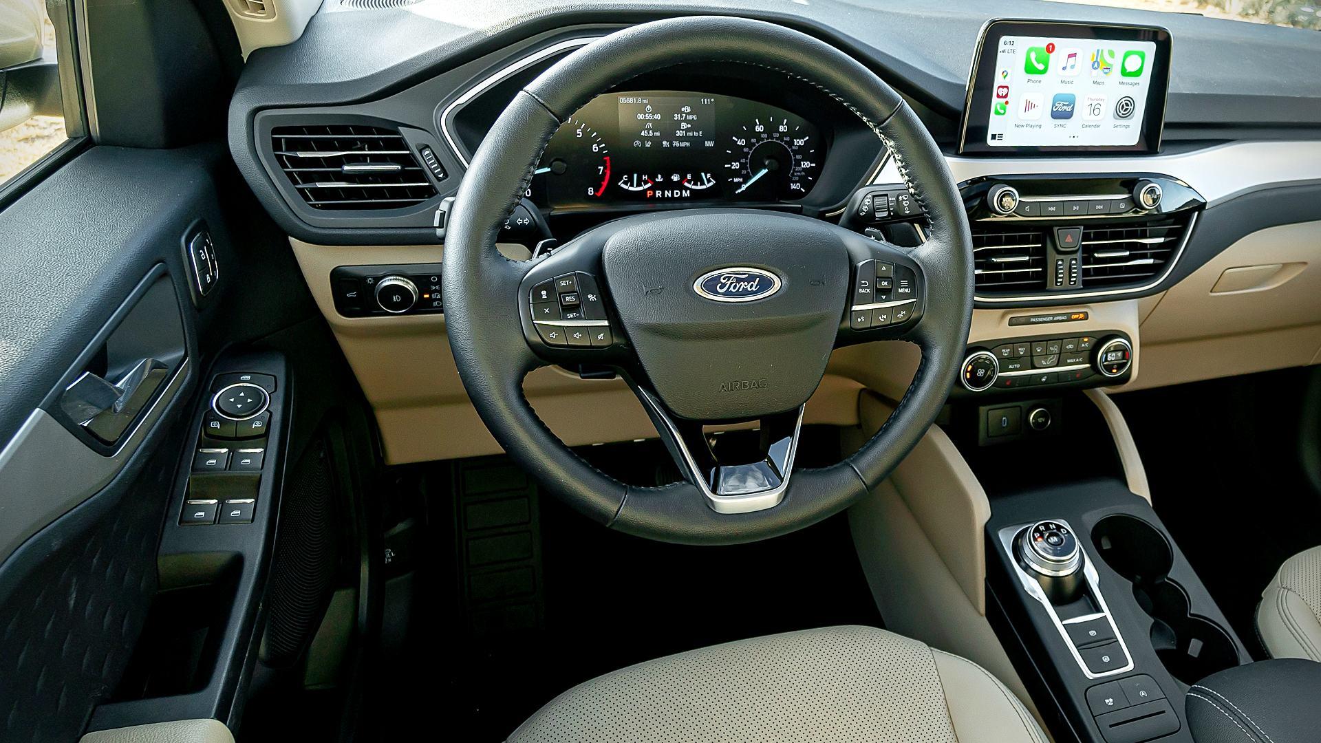 2020 Ford Escape Sel Interior Inside